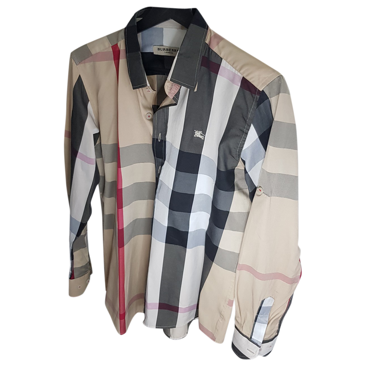 Burberry - Chemises   pour homme en coton - beige