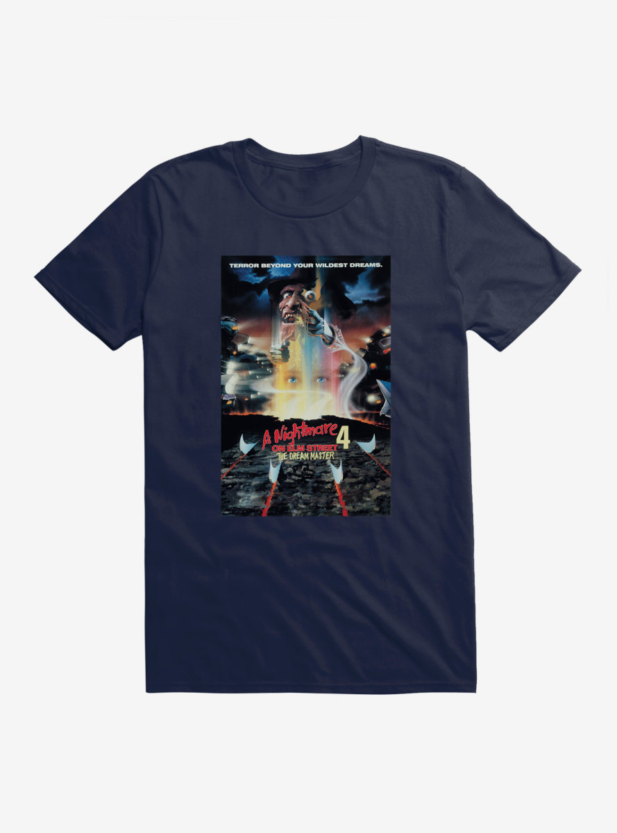 A Nightmare On Elm Street Dream Master Poster T-Shirt