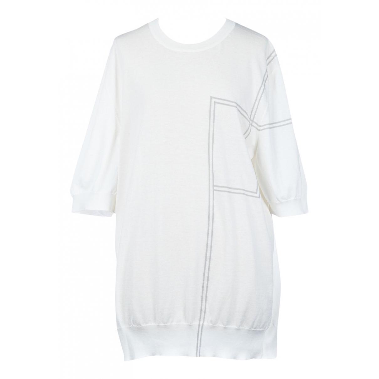 Hermès \N Ecru Cotton Knitwear for Women M International