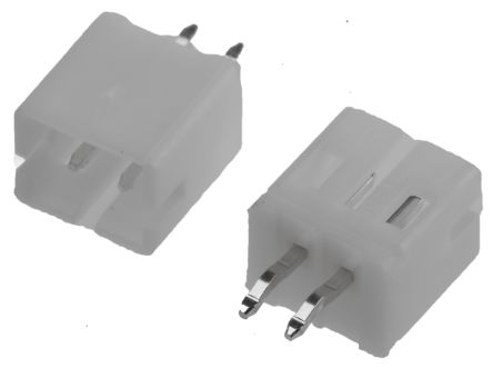 TE Connectivity , HPI, 2 Way, 1 Row, Straight PCB Header (10)