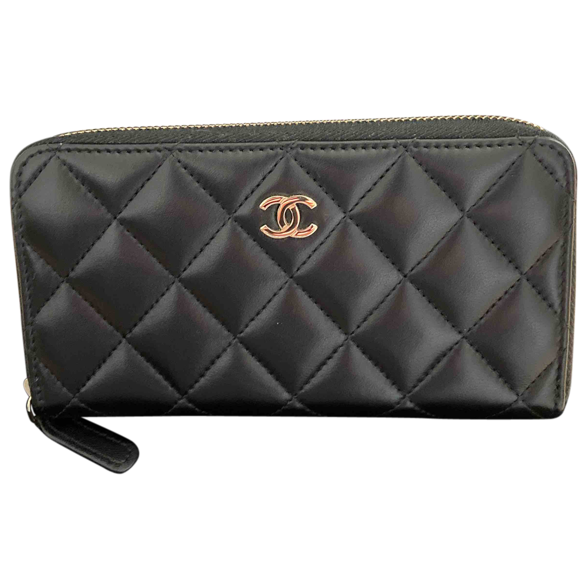 Chanel \N Kleinlederwaren in  Schwarz Leder