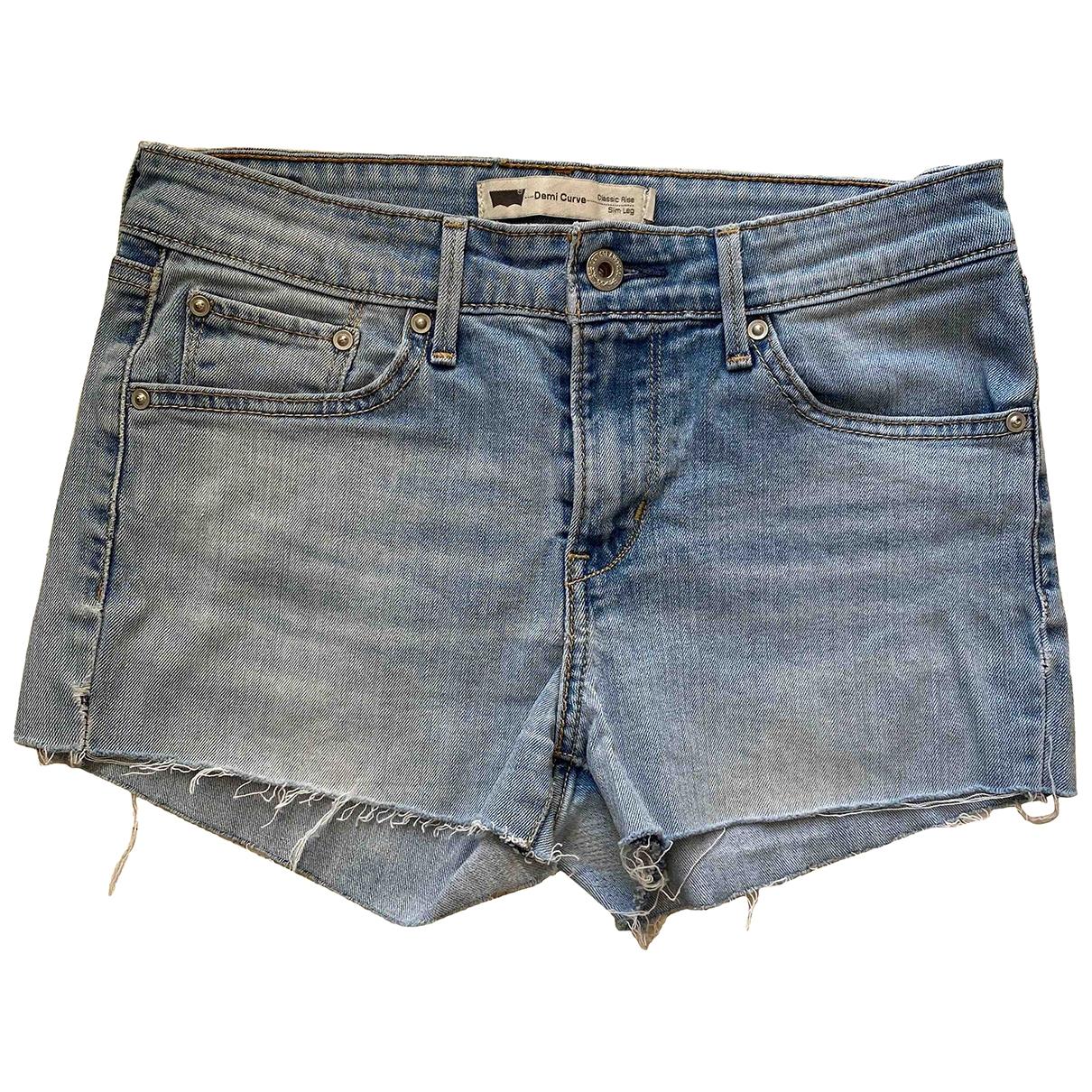 Levis Vintage Clothing \N Shorts in  Blau Baumwolle