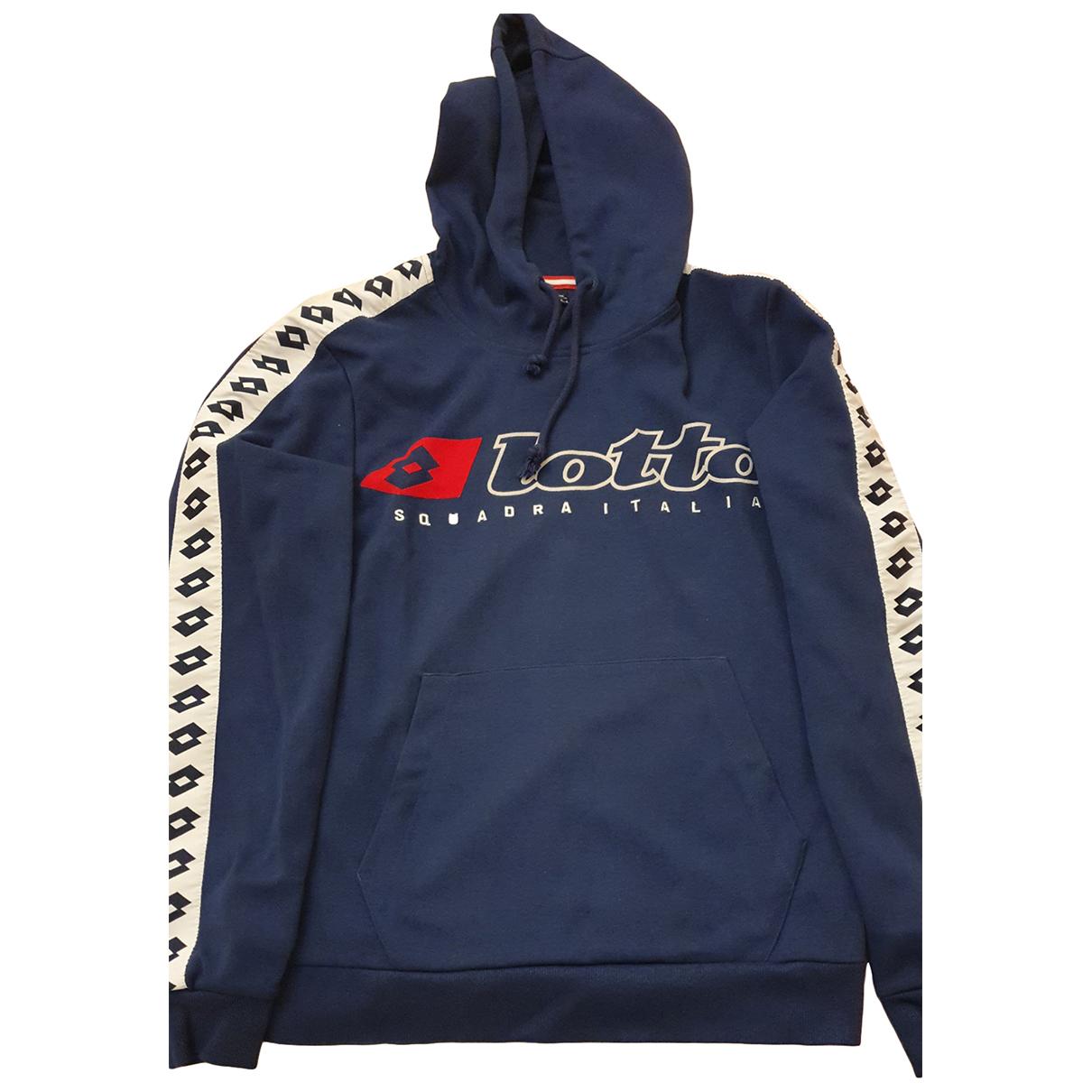 Lotto \N Pullover.Westen.Sweatshirts  in  Blau Baumwolle