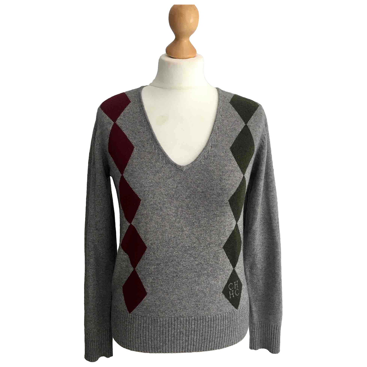 Carolina Herrera N Grey Wool Knitwear for Women S International