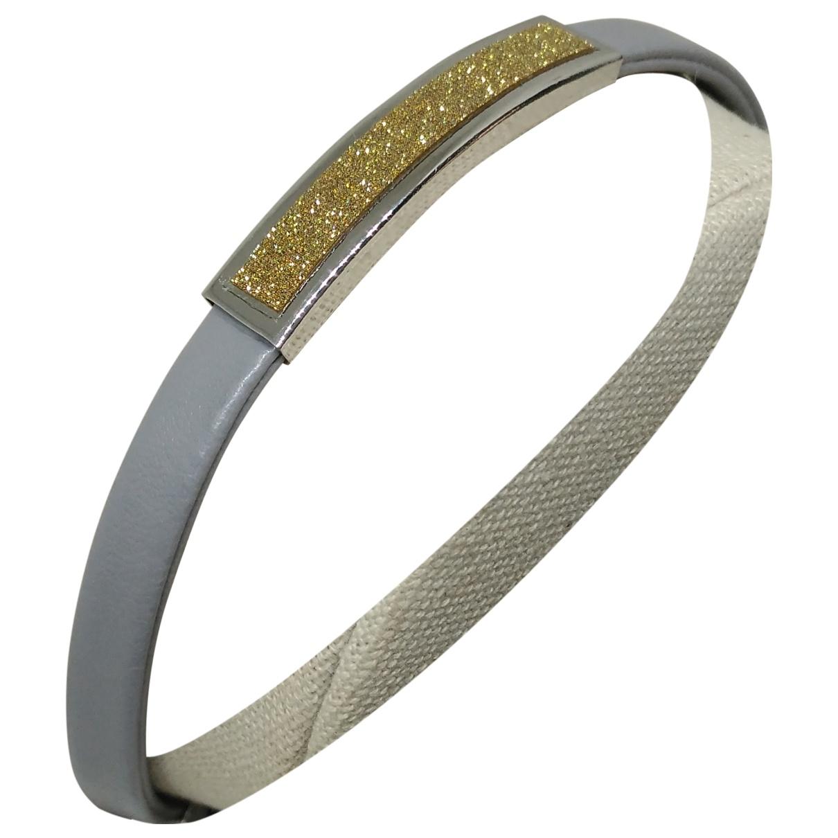 - Bracelet   pour femme en metal - gris