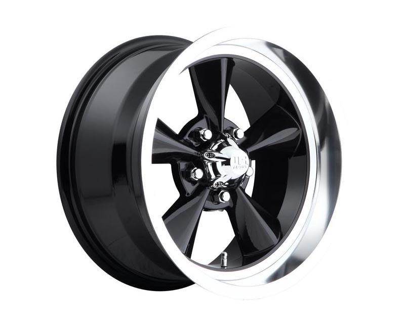 US Mag U107 Standard Wheel 15x7 5X4.75 -5mm Gloss Black