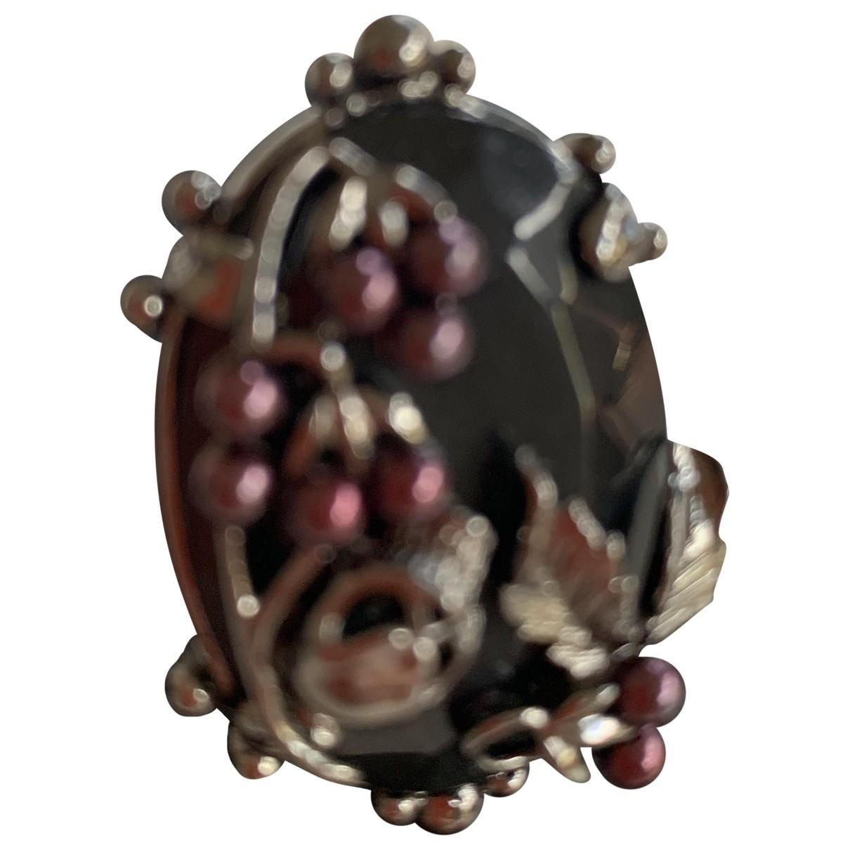 Mawi \N Ring in  Lila Metall