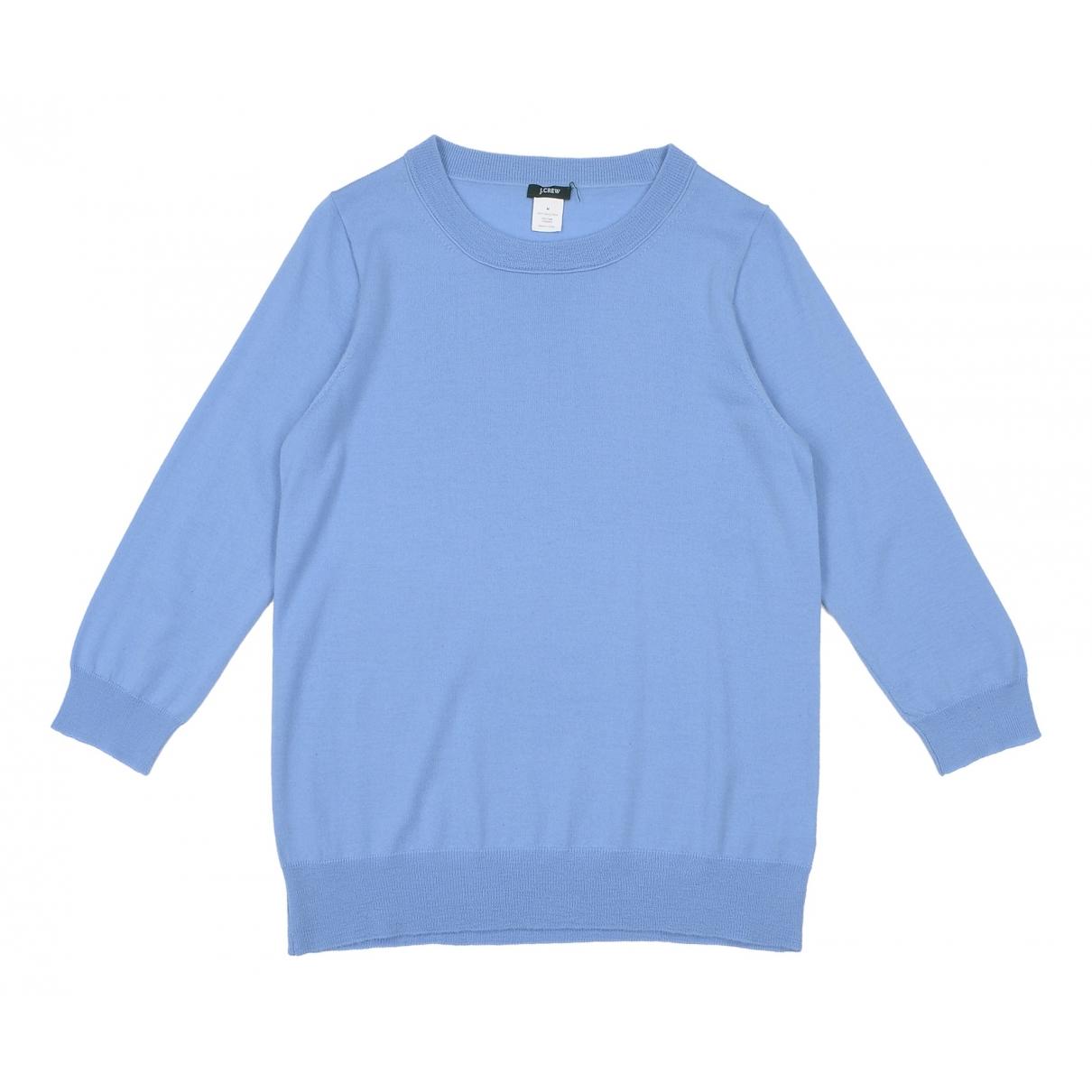 J.crew \N Blue Wool Knitwear for Women M International