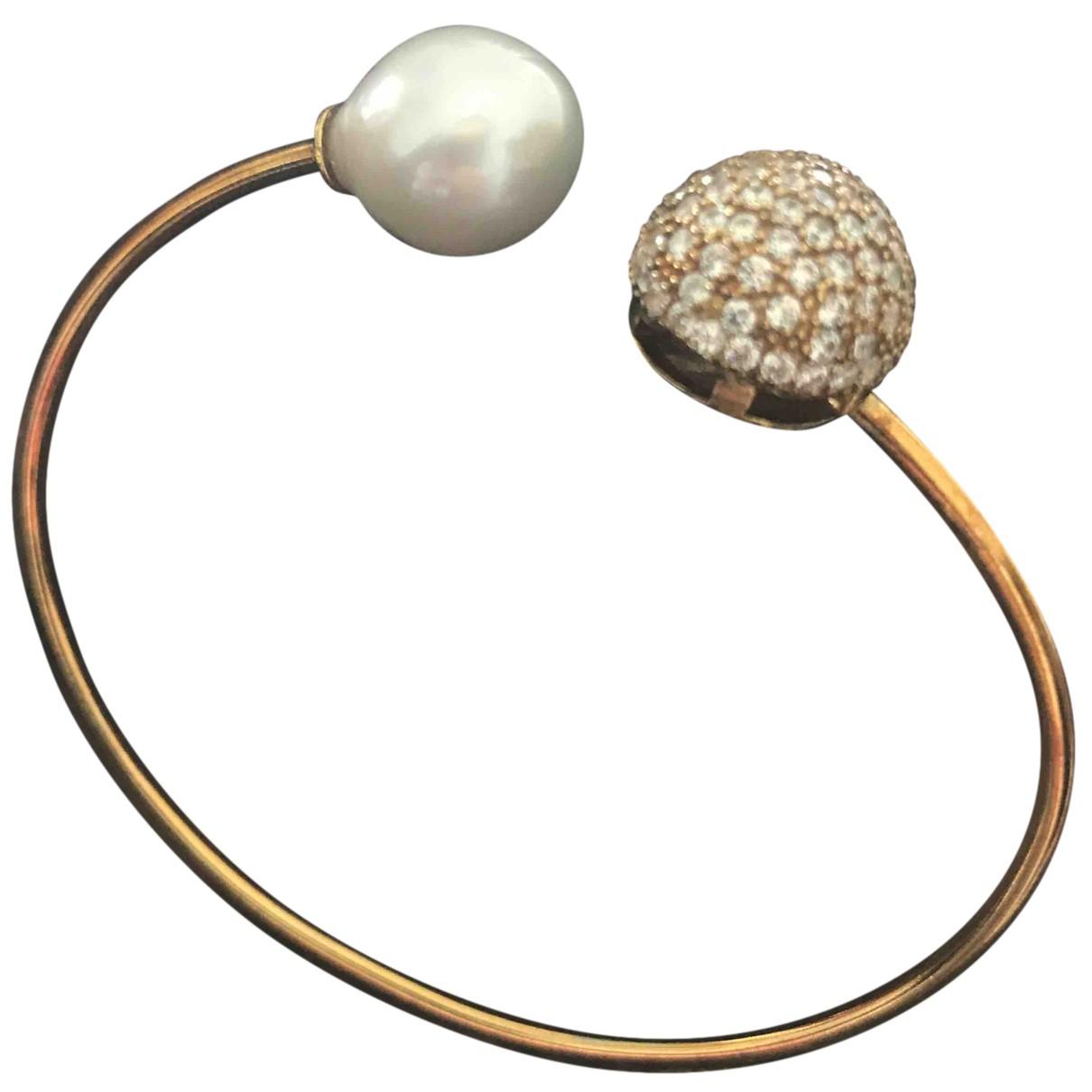 - Bracelet Nacre pour femme en argent - dore