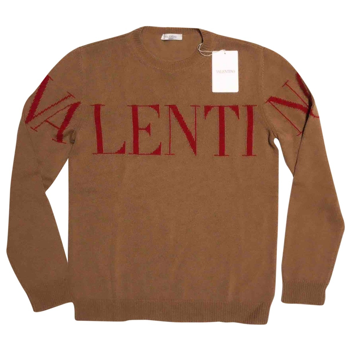 Valentino Garavani \N Camel Cashmere Knitwear & Sweatshirts for Men S International