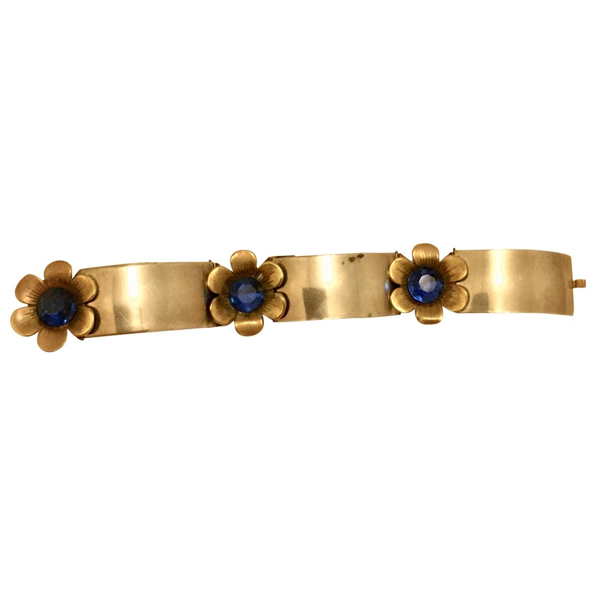 Non Signé / Unsigned Motifs Floraux Metal bracelet for Women \N