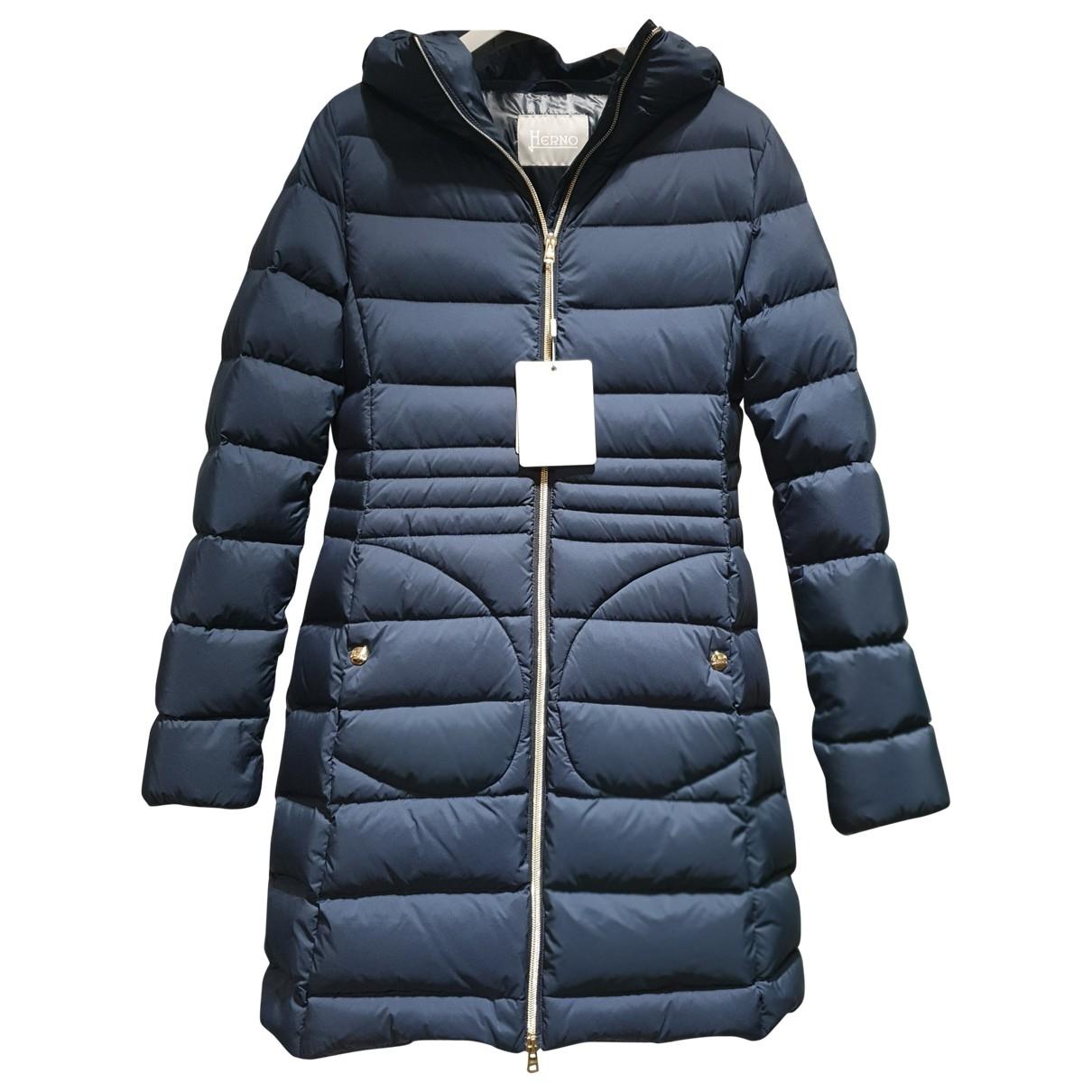Herno - Blousons.Manteaux   pour enfant - marine