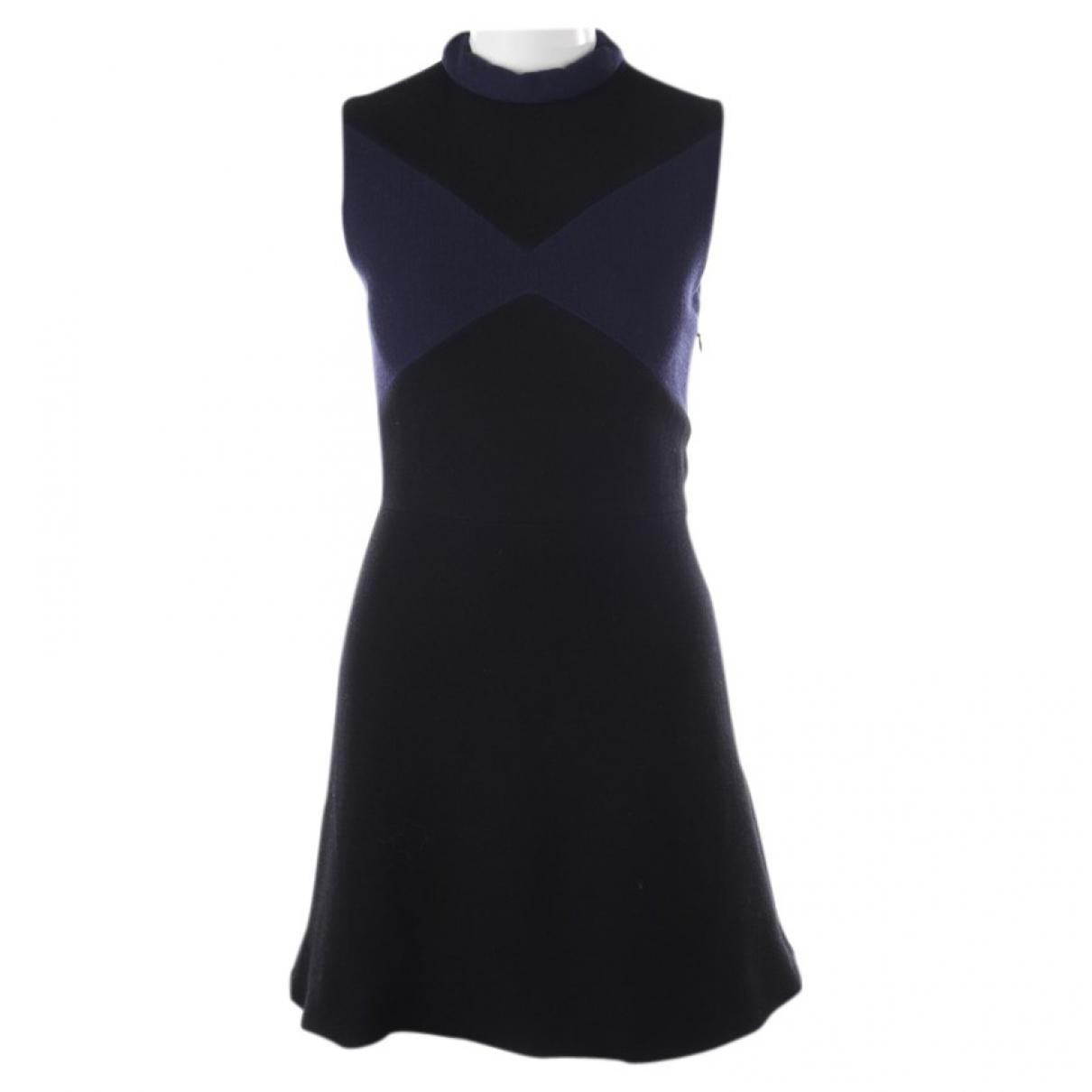 Victoria Beckham \N Kleid in  Blau Wolle