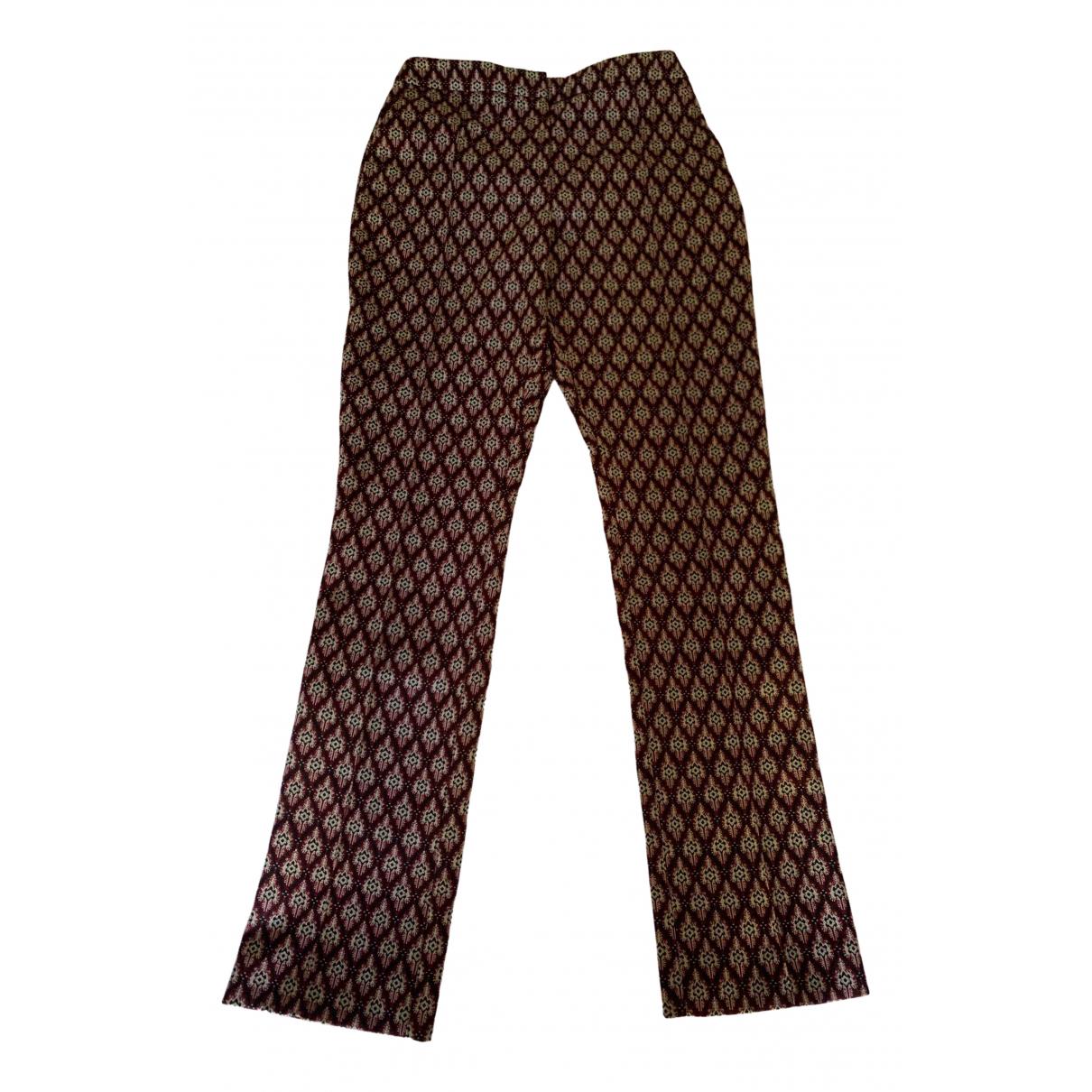 Alexa Chung \N Multicolour Trousers for Women 8 UK