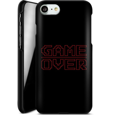 Apple iPhone 8 Smartphone Huelle - The Game Over von caseable Designs