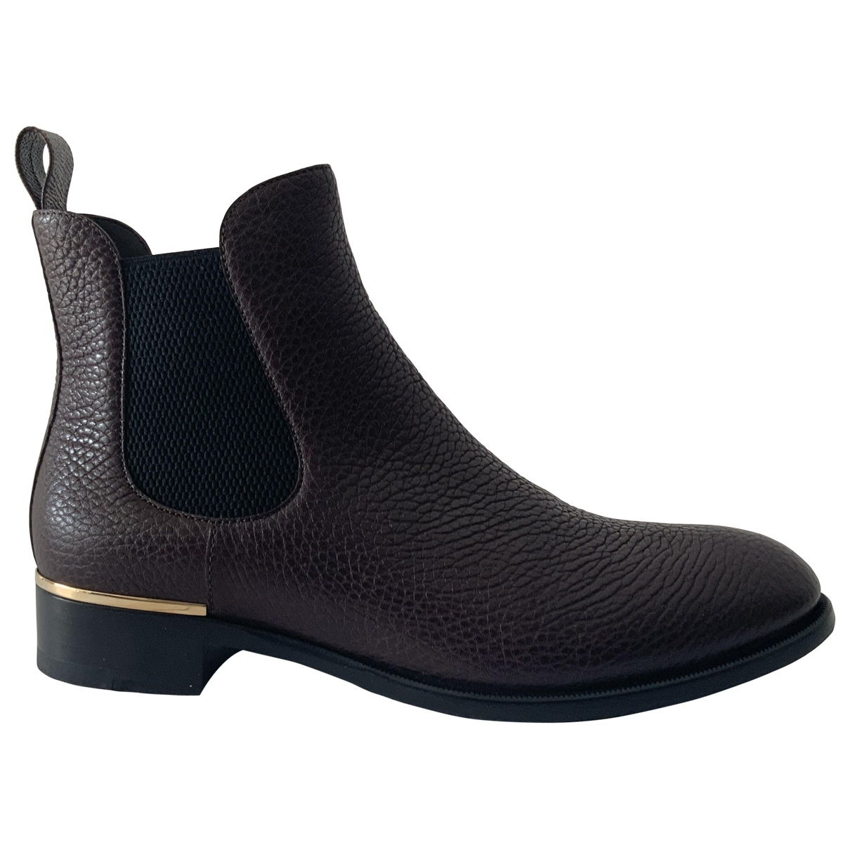 Botines de Cuero Louis Vuitton