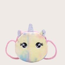 Bolsa bandolera mini de niñas con diseño de dibujos animados