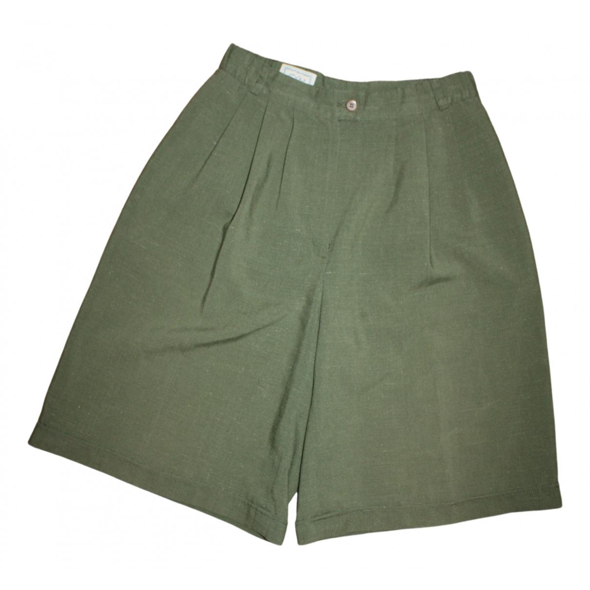Non Signe / Unsigned Hippie Chic Shorts in  Gruen Baumwolle
