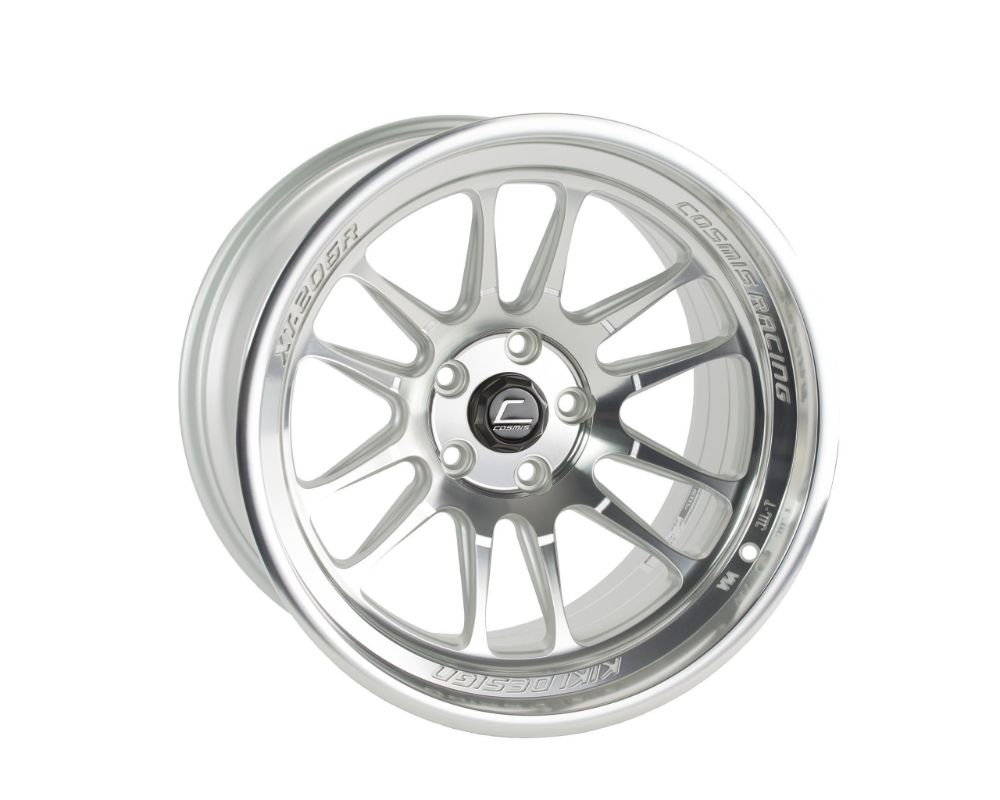 Cosmis Racing XT206R-2090-35-5x114.3-SMF XT-206R Wheel 20x9 5x114.3 +35mm Silver w/ Machined Face