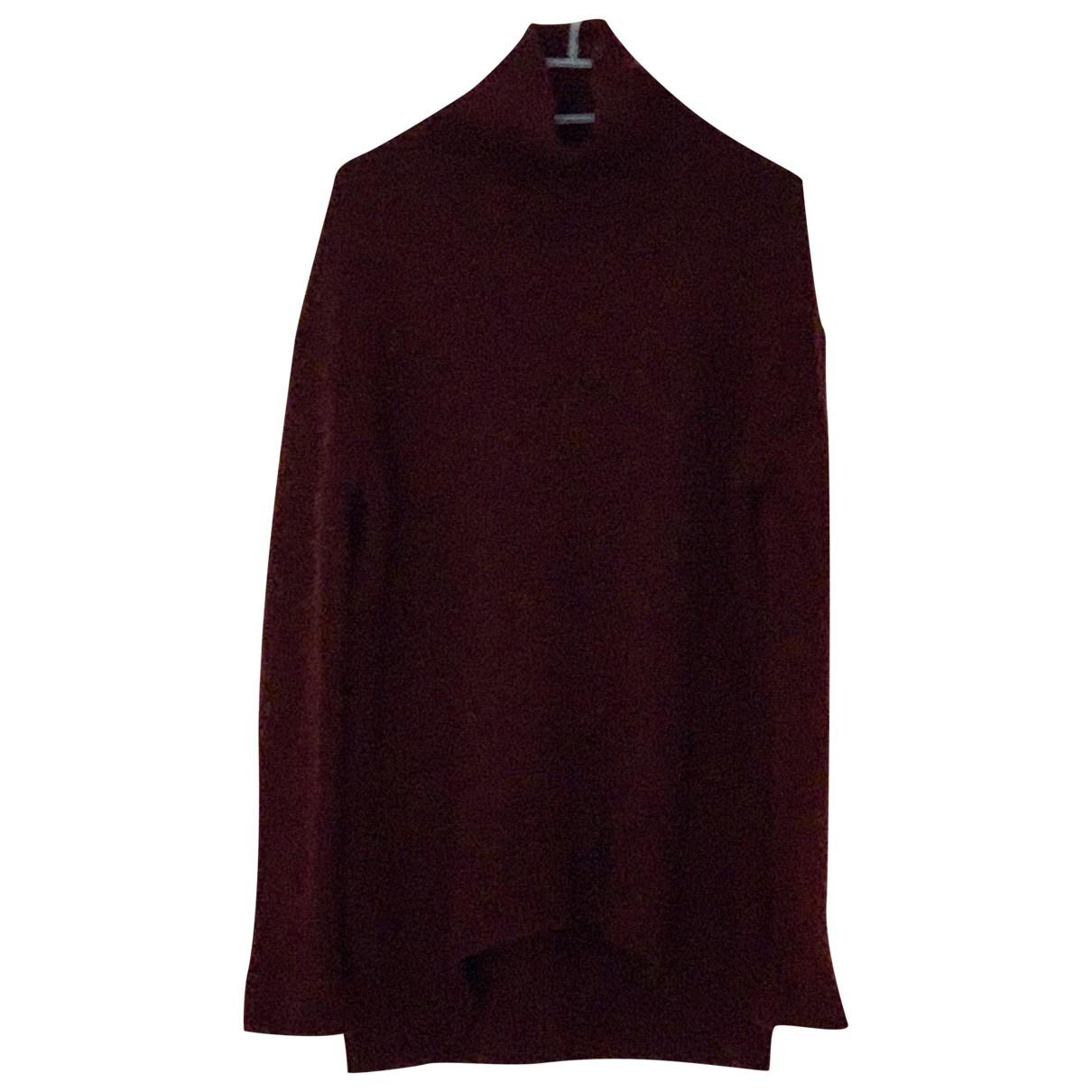 Celine \N Burgundy Cashmere Knitwear for Women XS International