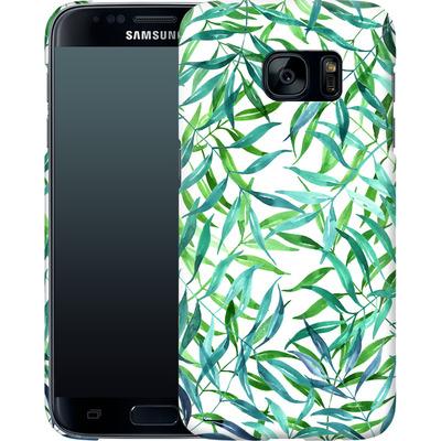 Samsung Galaxy S7 Smartphone Huelle - Palm Print von Becky Starsmore