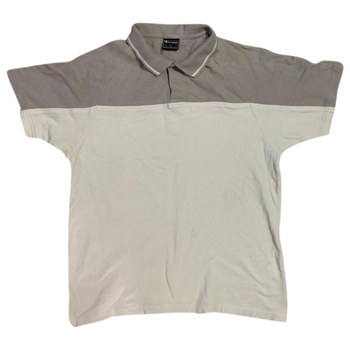 Champion \N Poloshirts in  Grau Baumwolle