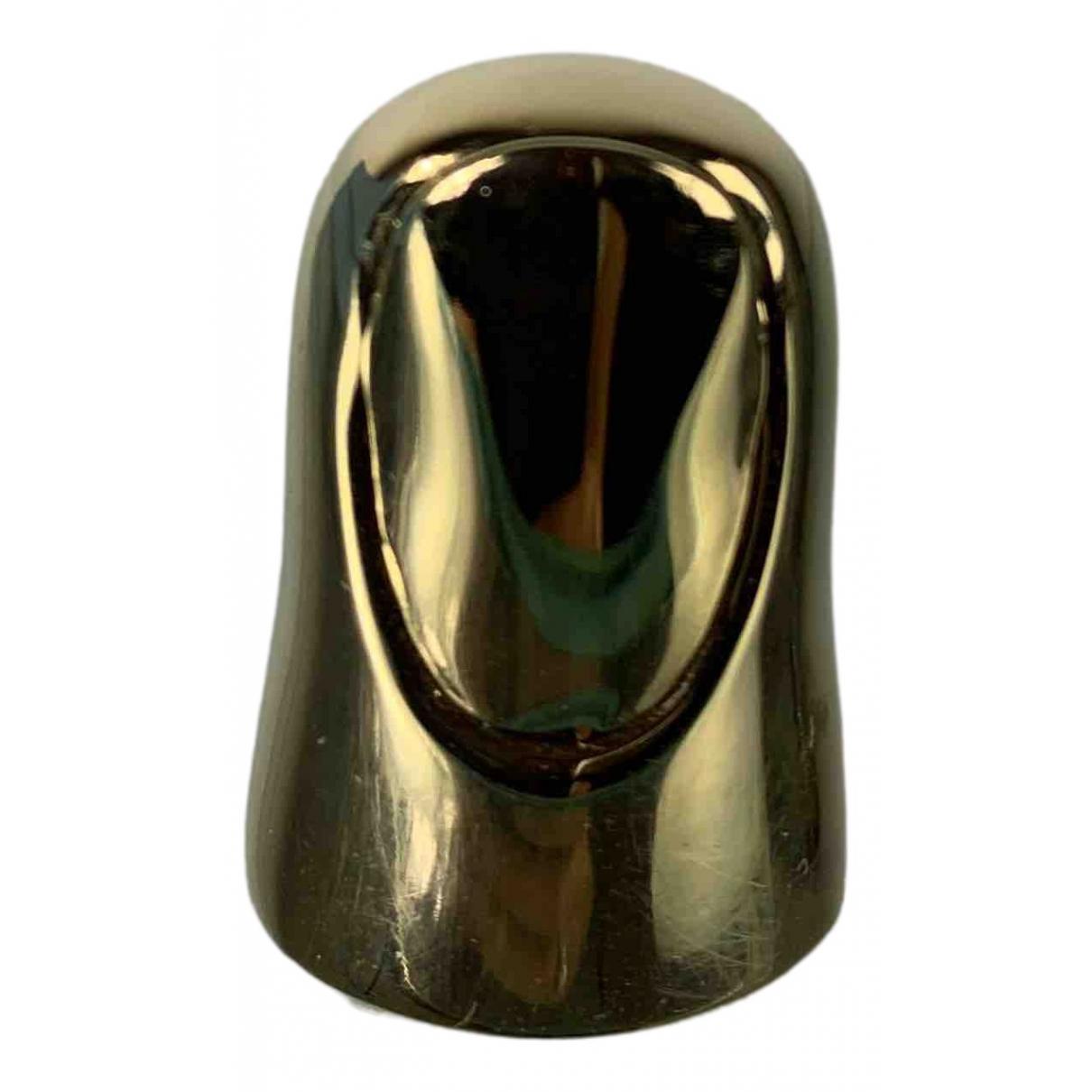 Lanvin - Bague   pour femme en metal - dore