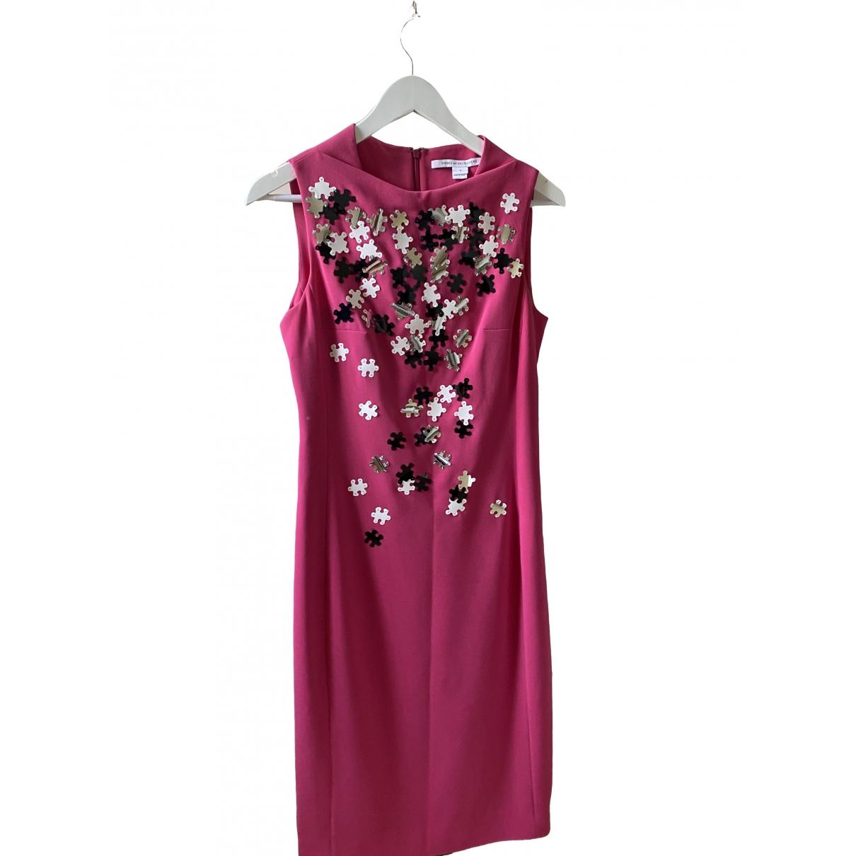 Diane Von Furstenberg - Robe   pour femme - rose