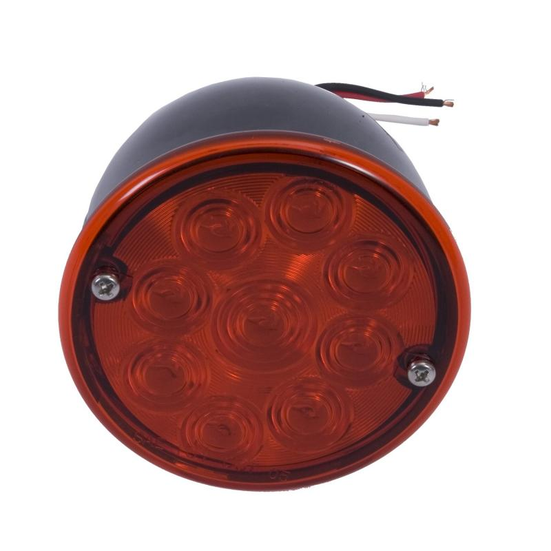 Rugged Ridge 12403.8 LED Tail Light Assembly, Right Side; 46-75 Willys/Jeep CJ Models Jeep