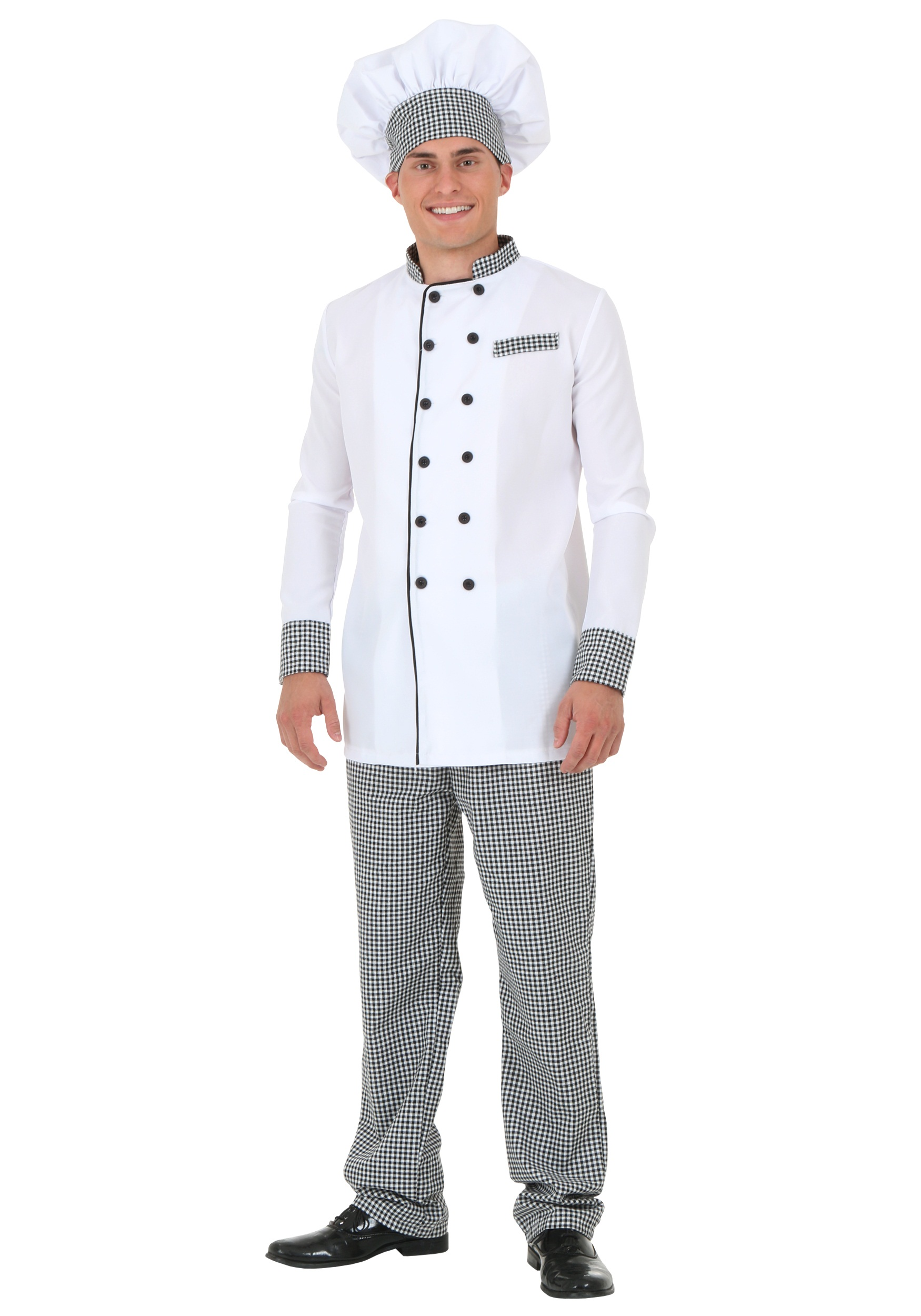 White Chef Jacket Costume for Men