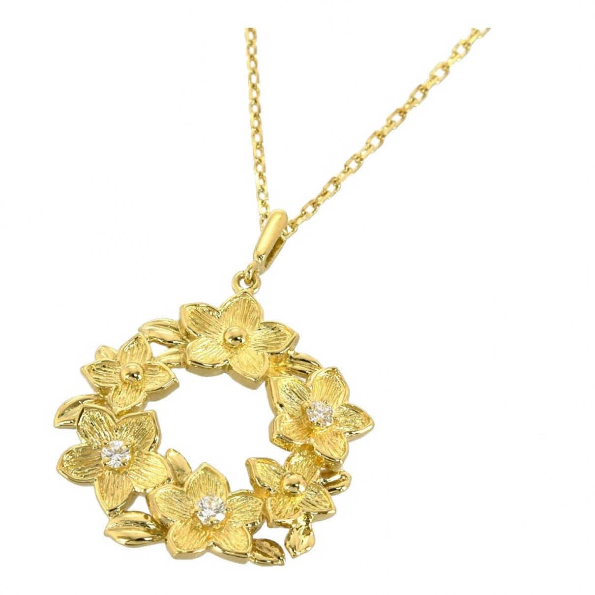 Mikimoto \N Kette in  Gold Gelbgold