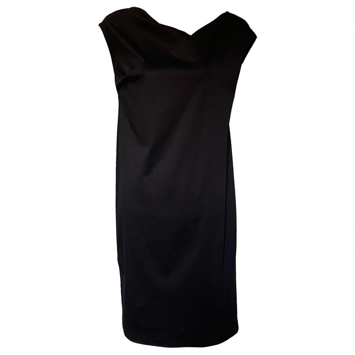 Jil Sander \N Black Cotton dress for Women 42 IT