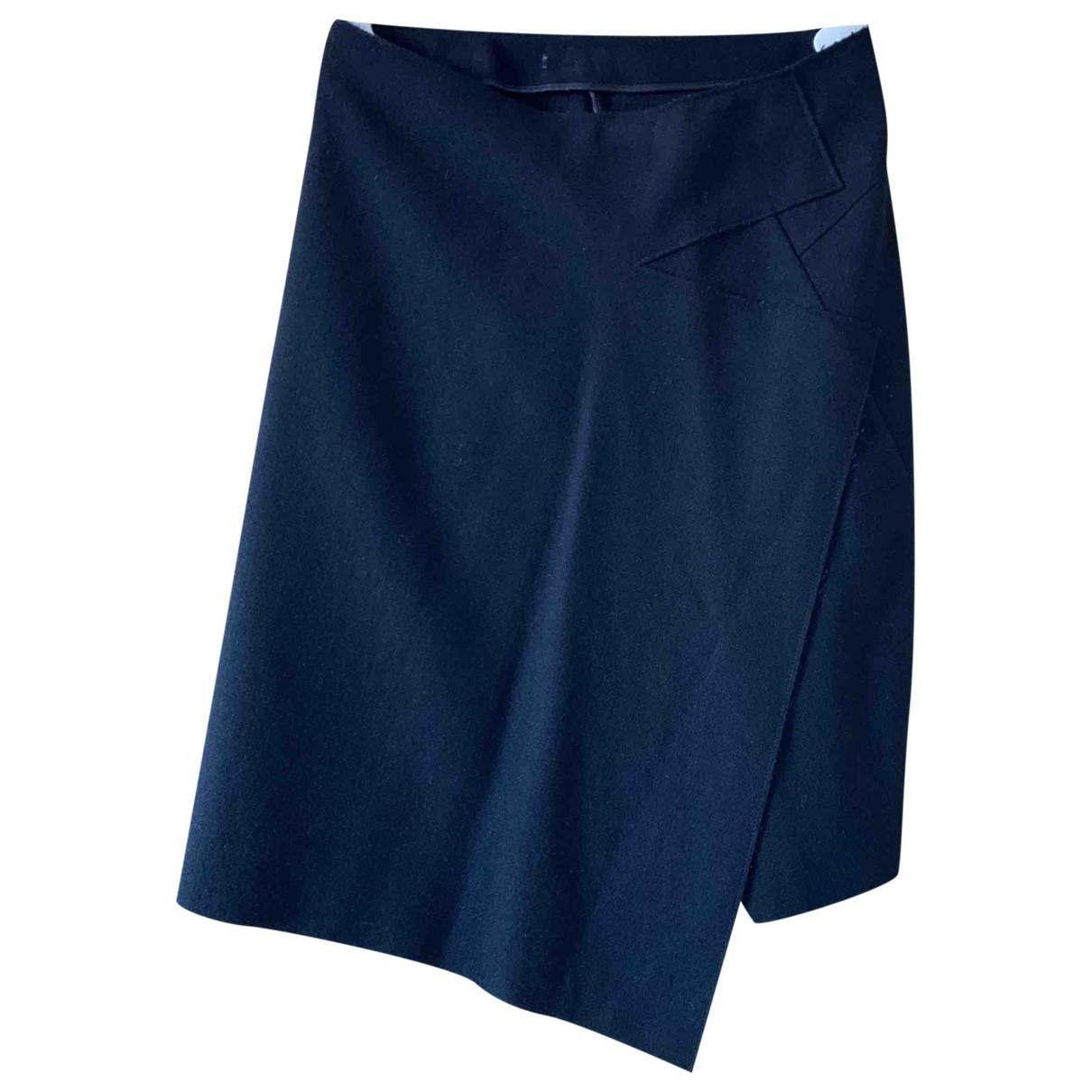 Jil Sander \N Black Wool skirt for Women 36 FR