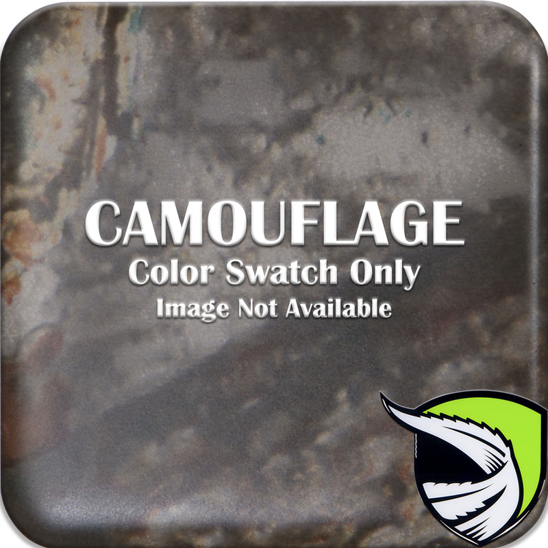 Tufskinz RAG002-CAM-M RANGER Front Grill Letter Inserts Fits 2019-2021 Ford Ranger 6 Piece Kit in Camouflage
