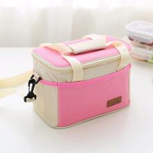 1pc Portable Insulated Lunch Bag