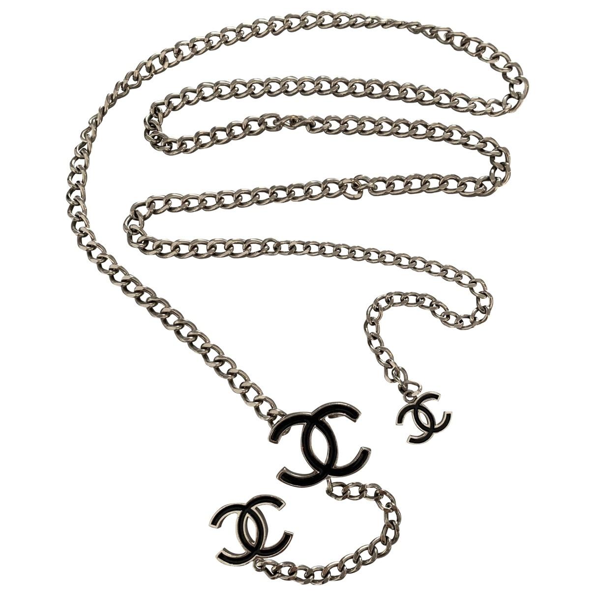 Chanel \N Guertel in  Schwarz Ketten