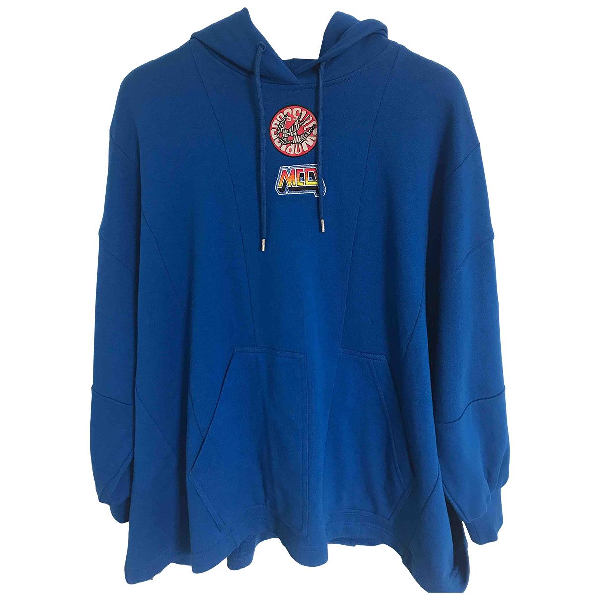 Mcq \N Pullover.Westen.Sweatshirts  in  Blau Baumwolle