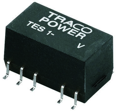 TRACOPOWER TES 1V 1W Isolated DC-DC Converter Surface Mount, Voltage in 4.5 → 5.5 V dc, Voltage out ±5V dc