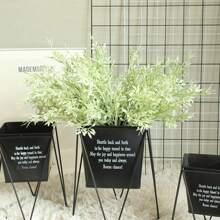 1 haz hierba artificial sin florero