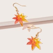 Maple Leaf Drop Earrings