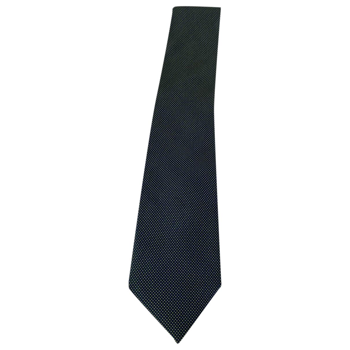 Ermenegildo Zegna \N Krawatten in  Gruen Seide
