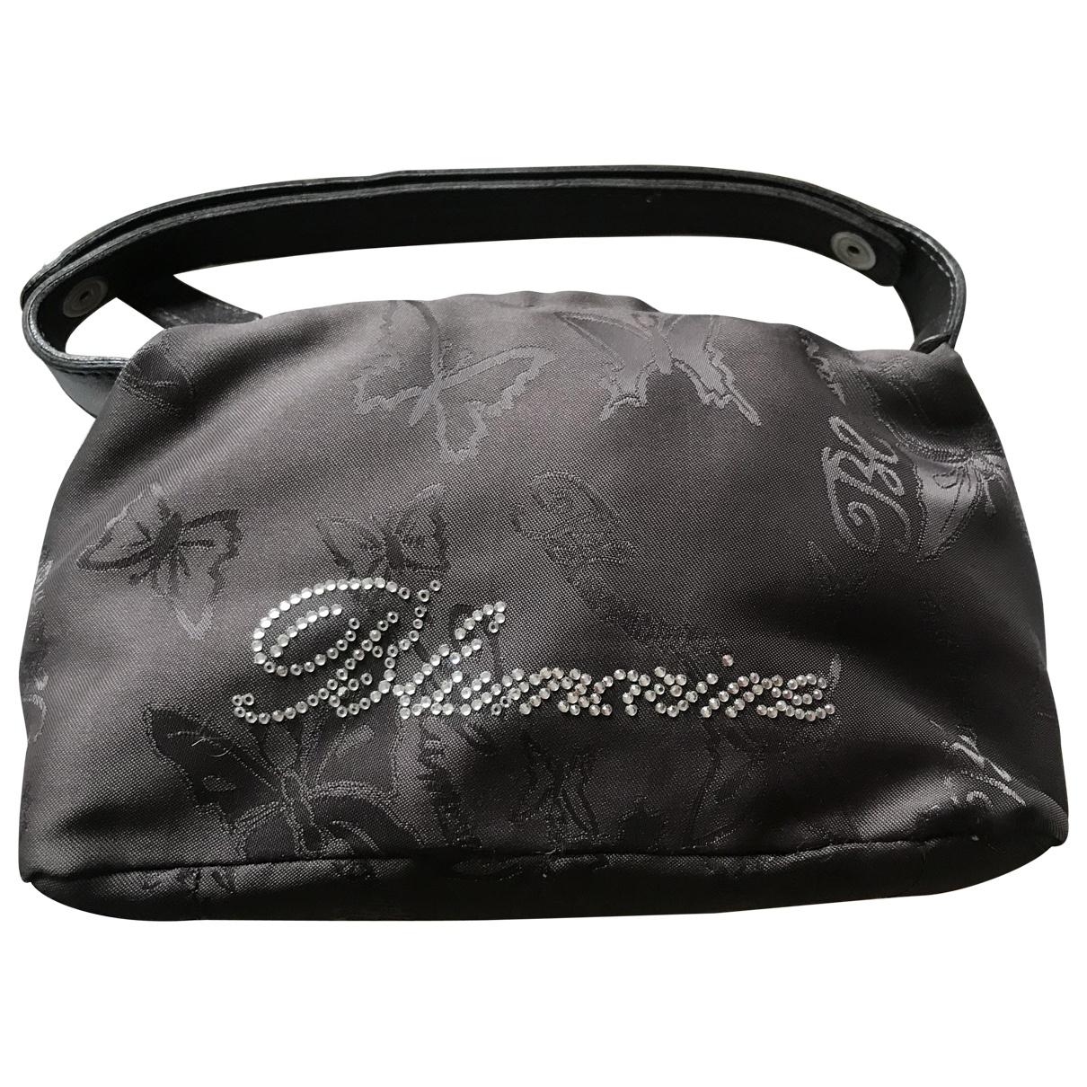 Blumarine \N Brown Cloth Clutch bag for Women \N