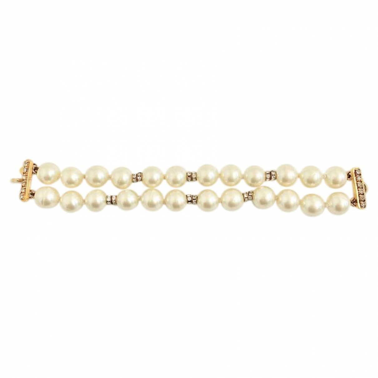 Chanel Baroque Gold Metal bracelet for Women \N