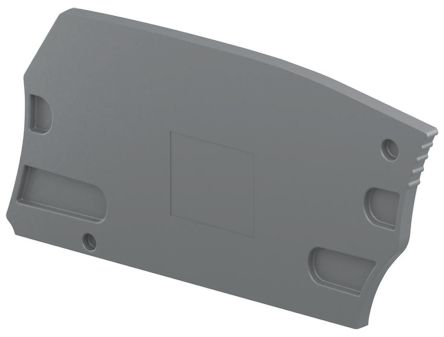 Entrelec ES6, End Section for use with ZS6-4S-PE Terminal Block (10)