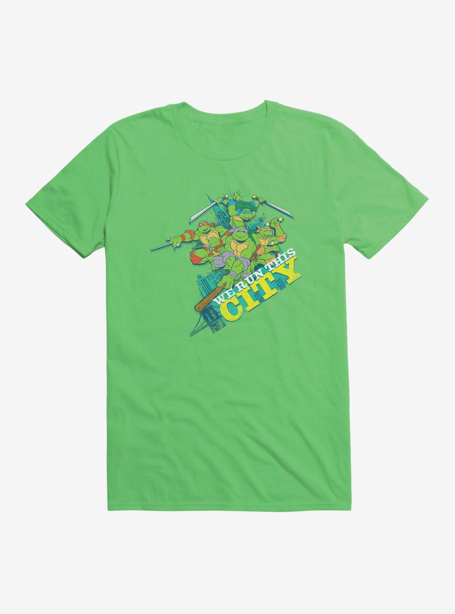 Teenage Mutant Ninja Turtles Group Pose We Run This City T-Shirt
