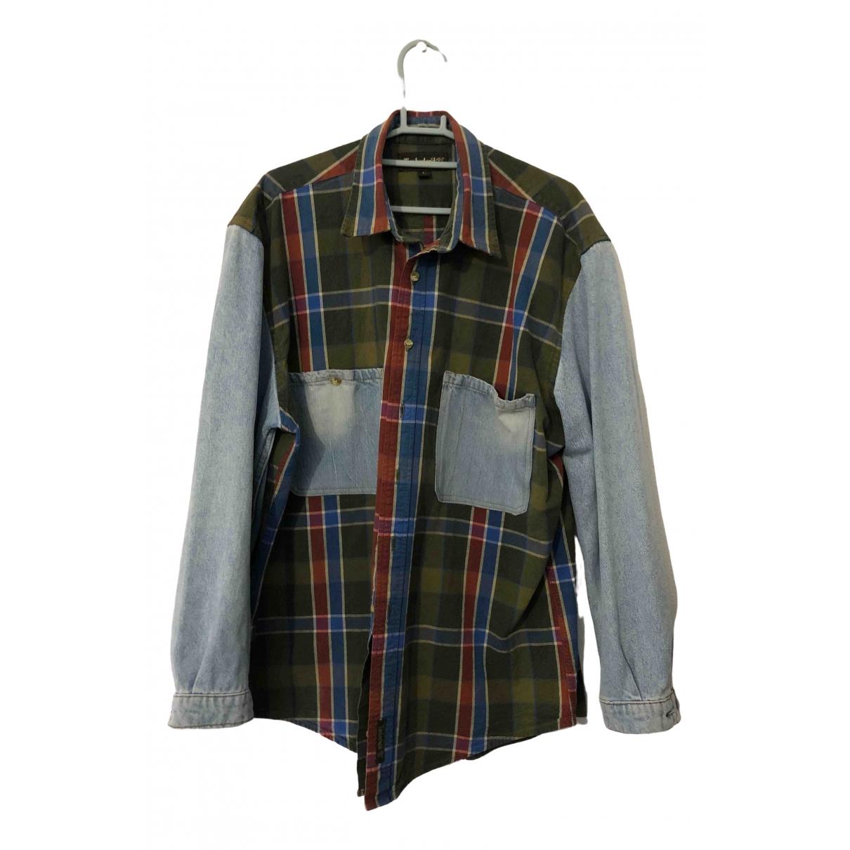 Timberland - Chemises   pour homme en coton - multicolore