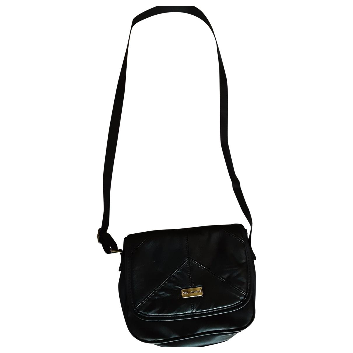 Ted Lapidus \N Black Leather handbag for Women \N