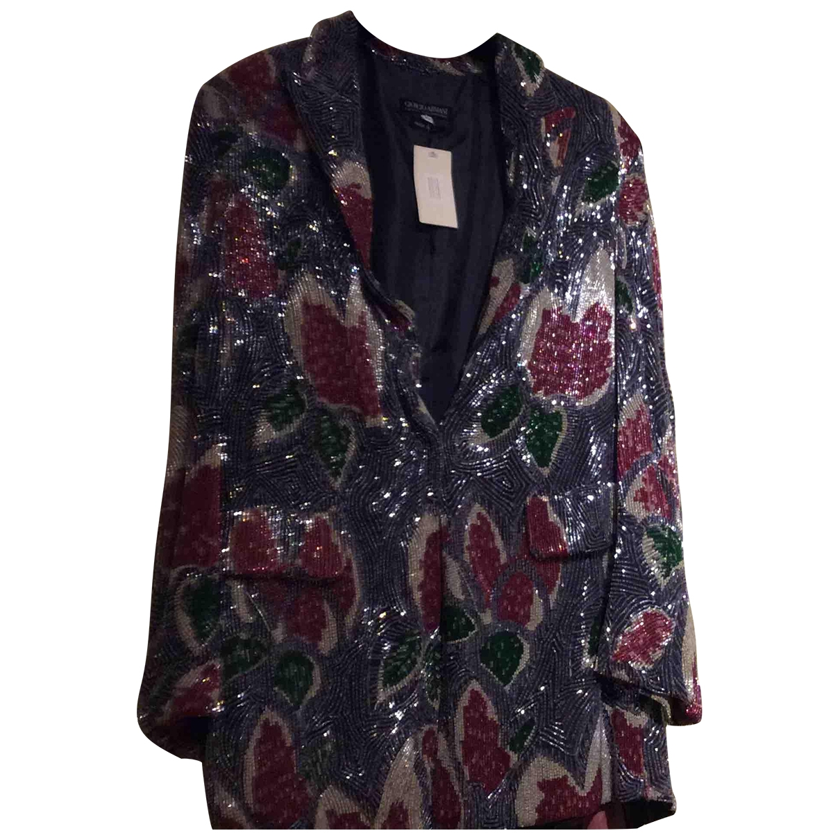 Giorgio Armani \N Multicolour Glitter jacket for Women 42 IT