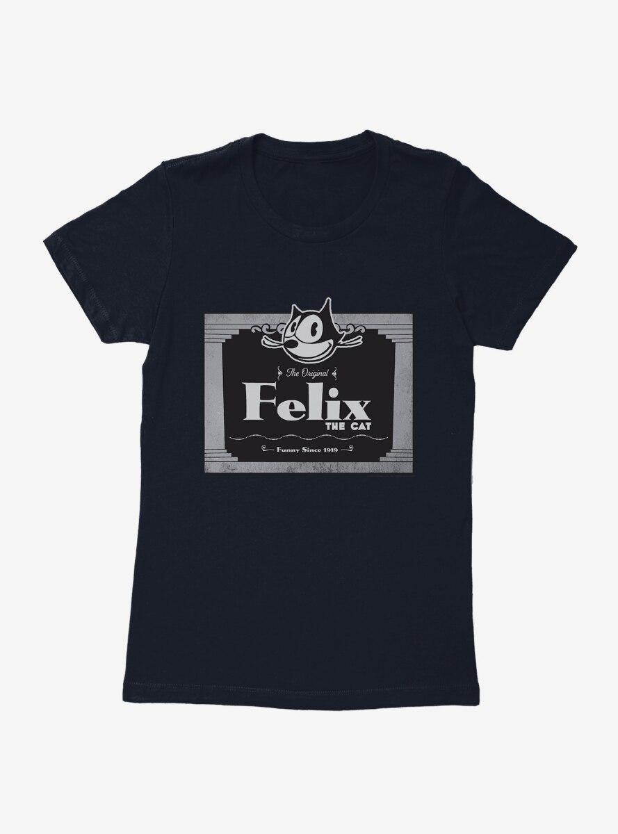 Felix The Cat The Original Movie Cat Womens T-Shirt