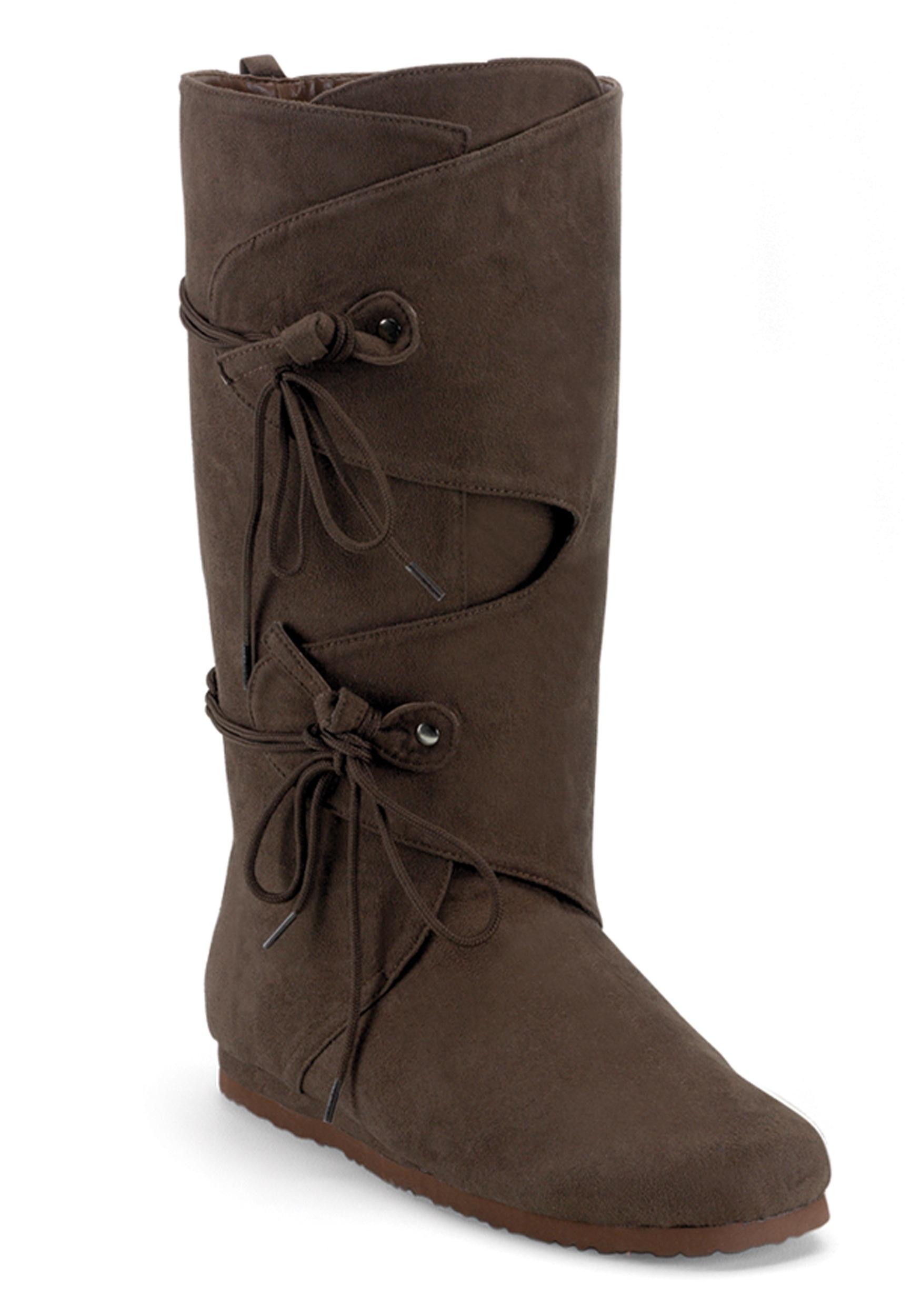 Adult Renaissance Costume Boots